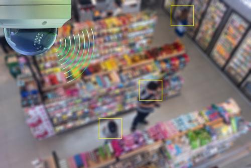 conveneience store camera installation
