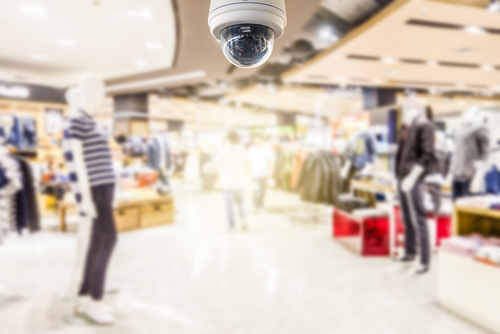 security camera installation for stores